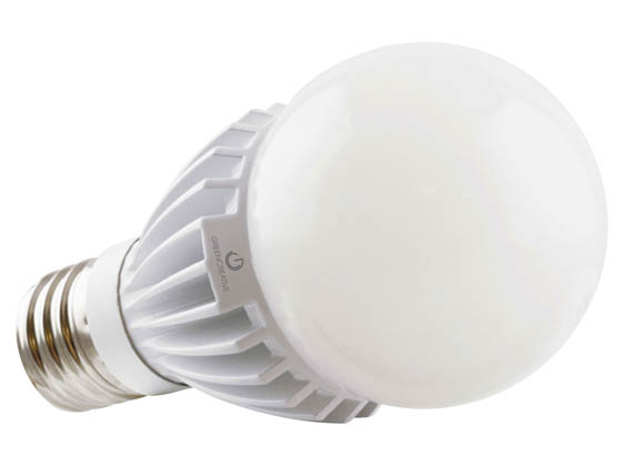 Green Creative 35053 34HID/840/277V/EX39 Non-Dimmable 34W 120-277V 4000K A-23 LED Bulb, Enclosed Fixture Rated, E39 Base