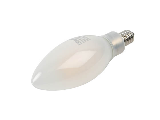 MaxLite 103121 EFF4B10D927/JA8 Maxlite Dimmable 4W 2700K 90 CRI Decorative Frosted Filament LED Bulb, Enclosed Fixture and Wet Rated, JA8 Compliant