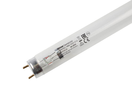 Sylvania 21283 G55T8/OF Osram 55W 36in TUV T8 Germicidal Fluorescent Tube