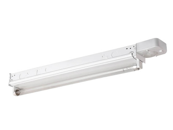 "Sunlite 90333-SU FIX/GRM/EC-1-15T8 UVC Single T8 15W 18"" Strip Fixture 120-277v 100sqft with Motion Sensor"