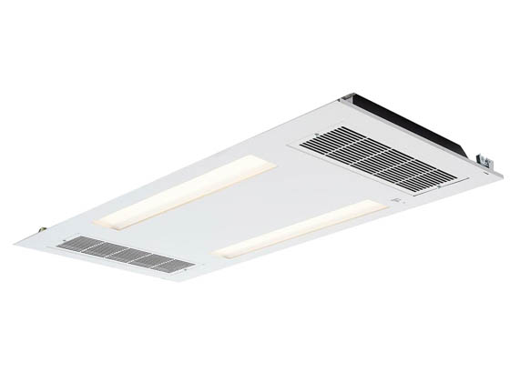 Healthe LSH Cleanse 4000 MVOLT SK Cleanse 2x4 Troffer LED 4000K Standard Lighting, UVC and HEPA Air Filter