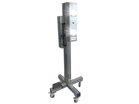 Puro Lighting S-M4-C-15-P-110 Puro Sentry M4 Mobile UV Disinfecting Fixture