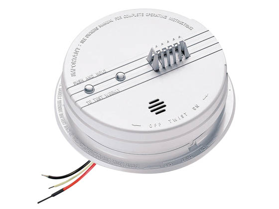 Kidde HD135 120 Volt Wire In Heat Alarm With 9 Volt Battery Backup