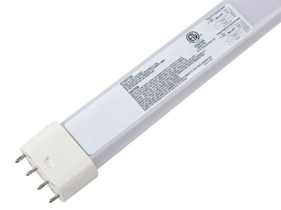 ELB Electronics LEDBX-17-840-B-RSF Dimmable 23W 4000K 4 Pin Single Twin Tube 2G11 Base LED Bulb, Ballast Compatible