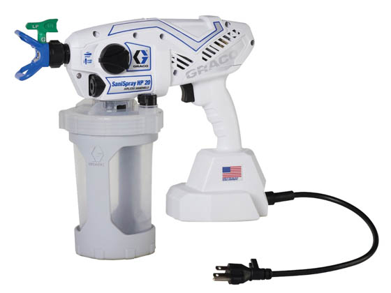 Graco 25R790 SaniSpray HP 20 Corded SaniSpray HP 20 Corded Handheld Disinfectant Sprayer
