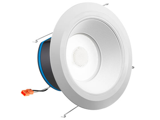 "Juno Lighting 25833E J6AI DB 10LM TUWH 90CRI 120 WWH JBL SPKR Juno AI 16.5 Watt 6"" Tunable White Connected Downlight With JBL Speaker, Works With Alexa"