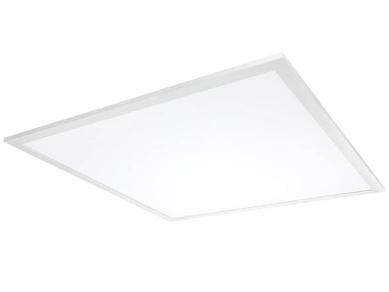 MaxLite 104500 MLFP22G418WCSEM Maxlite Dimmable, Adjustable CCT & Wattage, 2x2 ft Flat Panel LED Fixture with Emergency Battery Back-Up