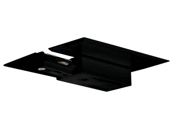 Satco Products, Inc. TP153 LIVE END FEED/CANOPY BLACK Satco Live End With Canopy For Black Track