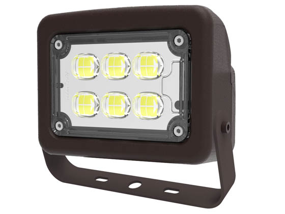 Halco Lighting 10340 FLFS12/3CCTU/YK Halco 50 Watt Equivalent, 12 Watt Color Adjustable (3000K/4000K/5000) LED Flood Light Fixture With Yoke Mount, Title 24 Compliant