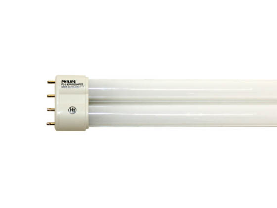 Philips Lighting 300426 PL-L 40W/30/RS/IS  (4-Pin) Philips 40W 4 Pin 2G11 Soft White Long Single Twin Tube CFL Bulb