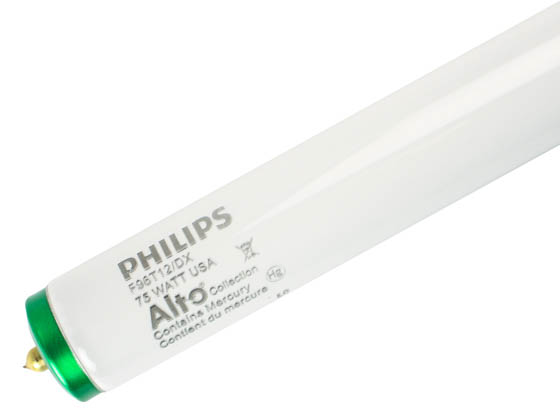 Philips Lighting 372821 F96T12/DX  ALTO Philips 75W 96in T12 Daylight White Fluorescent Tube
