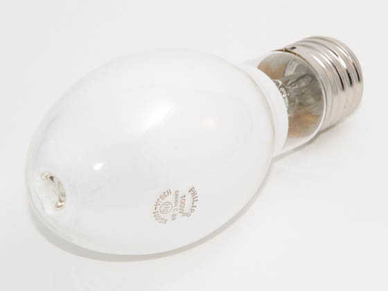 Philips Lighting 337139 H38JA-100/DX Philips 100 Watt White ED23 1/2 Mercury Vapor Bulb