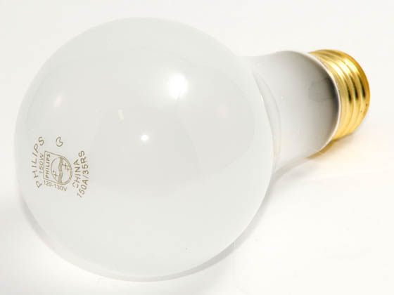 Philips Lighting 275883 150A/35RS/BR (120-130V) Philips 150 Watt, 120-130 Volt A21 Frosted Long Life Rough Service Bulb