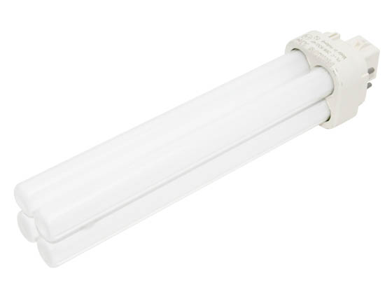 Philips Lighting 383356 PL-C 26W/830/4P/ALTO (4 Pin) Philips 26W 4 Pin G24q3 Soft White Double Twin Tube CFL Bulb