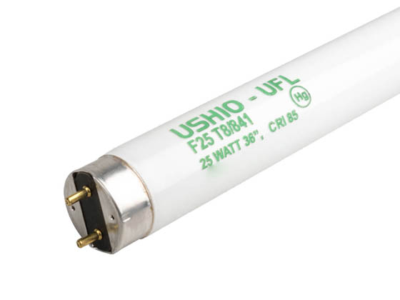 Ushio U3000265 UFL-F25T8/841 25W 36in T8 Cool White Fluorescent Tube