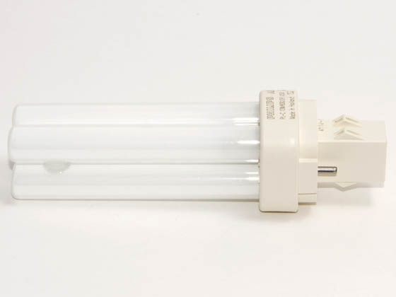 Philips Lighting 383117 PL-C 13W/830/USA/ALTO (2-Pin) Philips 13W 2 Pin GX232 Soft White Double Twin Tube USA CFL Bulb