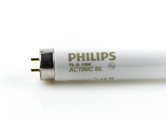Philips Lighting 130369 F15T8/BL Philips 15W 18in T8 Black Light Fluorescent Tube
