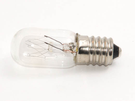 Bulbrite B715005 10T5.5/130 (E14 Base) 10W 130V T5 Clear Tube E14 Base