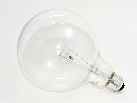 Philips 100 Watt 120 Volt G40 Clear Long Life Globe Bulb