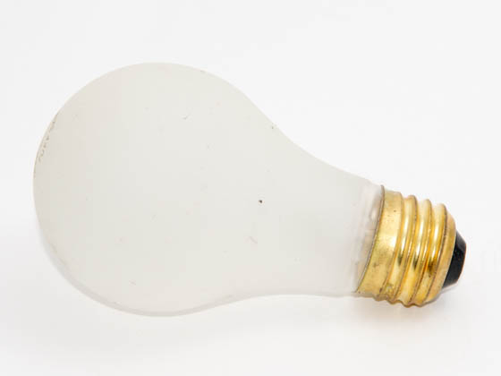 Bulbrite B108100 100A/RS/TF (Safety) 100W 130V A19 Rough Service Safety Coated Bulb, E26 Base