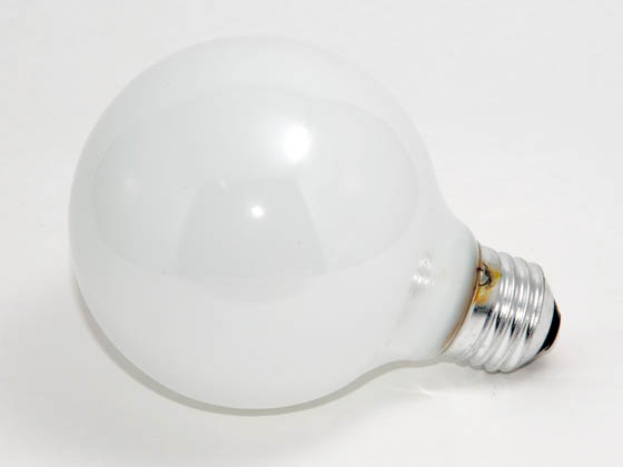 Philips Lighting 167486 25G25/W  (120V) Philips 25W 120V G25 White Globe Bulb, E26 Base