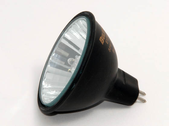 Bulbrite B638510 EXZ/BLK (12V, 3000 Hrs) 50W 12V MR16 Halogen Narrow Flood EXZ Bulb