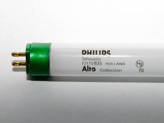 Philips Lighting 230821 F21T5/835/ALTO Philips 21W 34in T5 Neutral White Fluorescent Tube