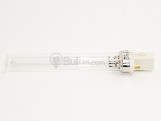 Philips Lighting 325126 TUV PL-S 9W/2P (Germicidal) Philips 9W TUV 2 Pin G23 Germicidal Single Twin Tube CFL Bulb