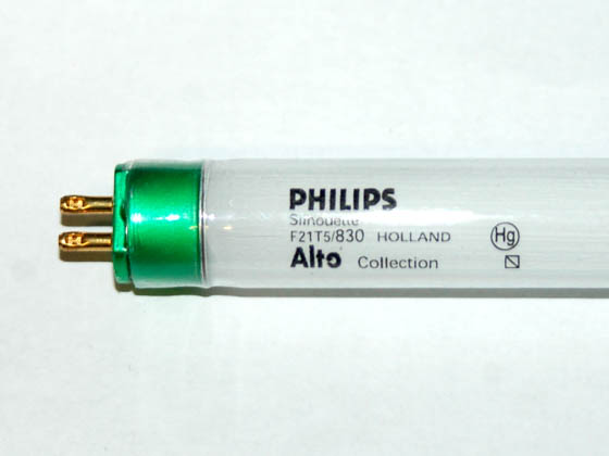 Advanced Lamp Coatings P230813 F21T5-830-PH-PSG (Safety) 21 Watt, 34 Inch T5 Warm White Safety Coated Fluorescent Bulb