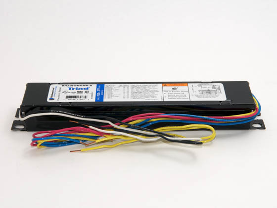 Universal B432IUNVHP-A000I Electronic Instant Start Ballast 120V to 277V for (4) F32T8