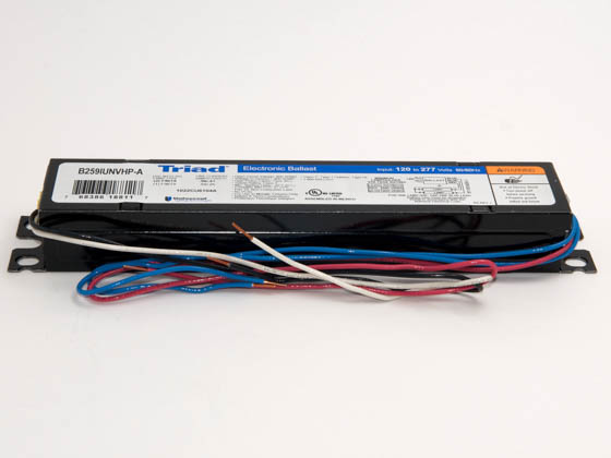 Universal B259IUNVHP-A000I Electronic Ballast 120V to 277V for (2) F96T8