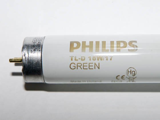 Philips Lighting TLD18W/17 TLD18W/17 (Green) Philips 18W 24in T8 Green Fluorescent Tube