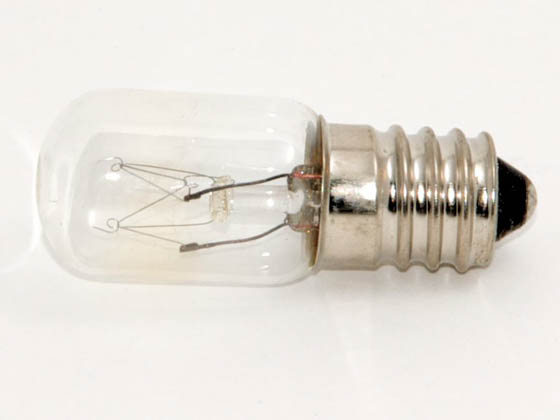 Bulbrite B715002 8T5.5/60 (60V, E14 Base) 8W 60V Clear T5 European E14 Base