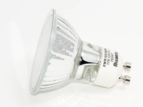 Bulbrite B620137 FMW/GU10/FR (Frosted) 35W 120V MR16 Frosted Flood Bulb
