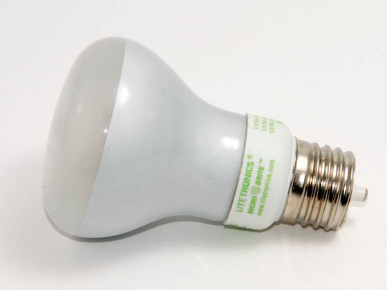 Litetronics MB-509DP 5W/R20/110-130V/FF/PW 30 Watt Incandescent Equivalent, 5 Watt, Frosted DIMMABLE/FLASHABLE R20 PURE/WARM WHITE (2850K) Cold Cathode Lamp.