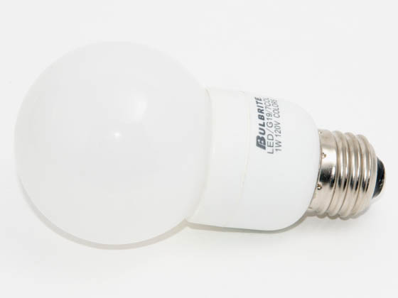 Bulbrite B770190 LED/G19/7COL (Color Changing) 1 Watt, 120 Volt Color Changing LED G19 Bulb