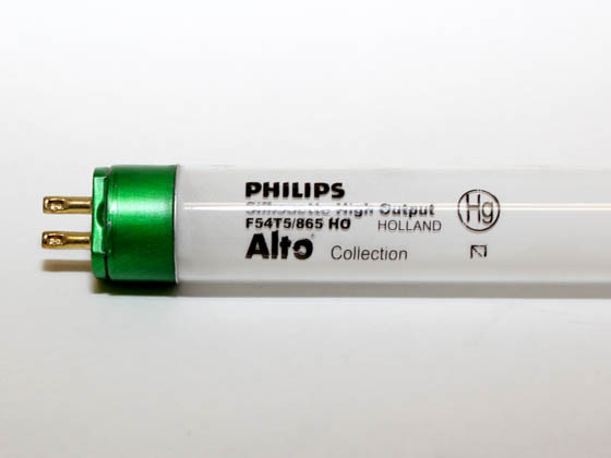 Philips Lighting 147454 F54T5/865/HO/ALTO Philips 54W 46in T5 High Output Daylight White Fluorescent Tube