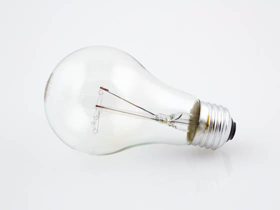 Bulbrite B101025 25A/CL (130V) 25W 130V A19 Clear E26 Base