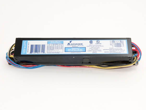 Advance Transformer IOP4P32LWSC35M IOP-4P32-LW-SC-35M Philips Advance 120-277 Volt Four Lamp F32T8 Electronic Ballast