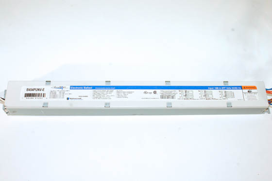 Universal B454PUNV-E010C Electronic Programmed Start High Output Ballast 120V to 277V for (4) F54T5