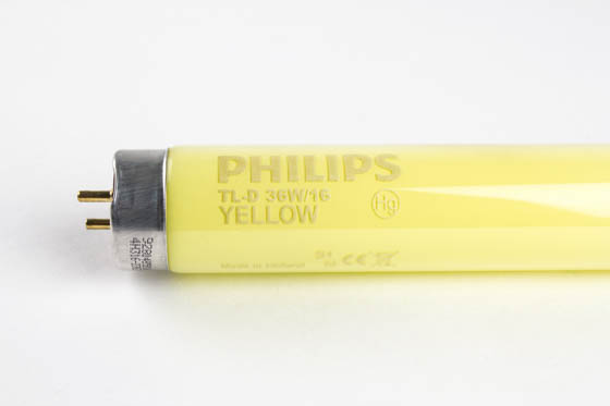 Philips Lighting TLD36W/16 TLD36W/16 (Yellow) Philips 36W 48in T8 Yellow Fluorescent Tube