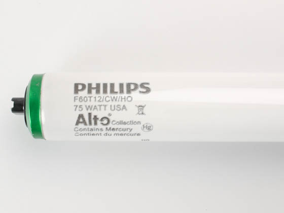 Philips Lighting 234310 F60T12/CW/HO/ALTO Philips 75W 60in T12 HO Cool White Fluorescent Tube