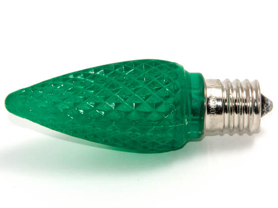 Bulbrite B770194 LED/C9G (Green) 0.6W Green C9 Holiday LED Bulb