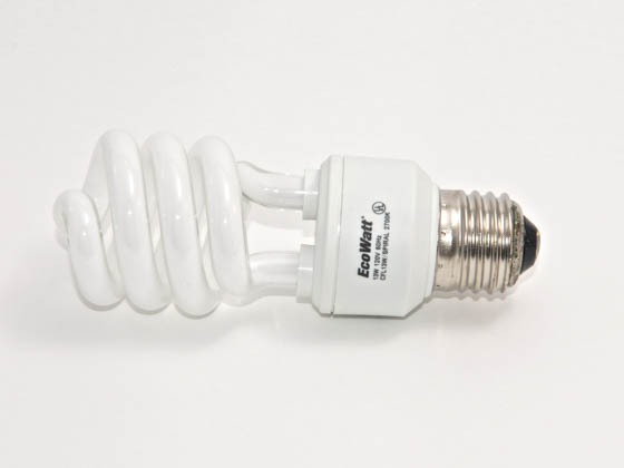 Megalight, Inc. S38013-2700 13W/2700K Spiral 60W Incandescent Equivalent, ENERGY STAR Qualified.  13 Watt, 120 Volt Warm White CFL Bulb. Sold in 6-Packs, Priced Per Bulb.