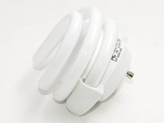 Maxlite 18w Warm White Gu24 Spiral Cfl Bulb Mls18gusww