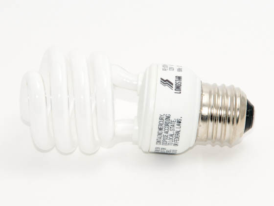 Longstar FE-IISB-14W/41K Long Star 14W 120V Cool White CFL Bulb, E26 Base