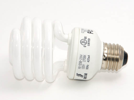 Longstar FE-IISB-23W/27K Long Star 23W 120V Warm White CFL Bulb, E26 Base
