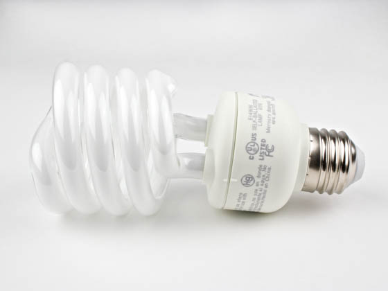TCP TEC801023 TCP 801023 23W Warm White Spiral CFL Bulb, E26 Base