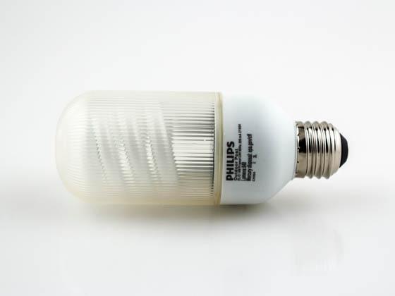 Philips 14w Warm White Outdoor Bullet Cfl Bulb E26 Base El O 14w Prisma Bulbs Com