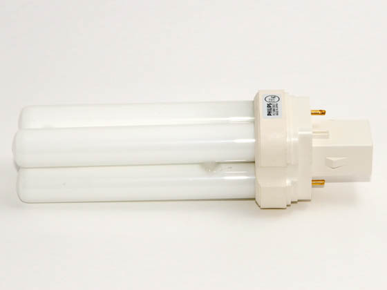Philips Lighting 241687 PL-C 15MM/22W/27  (2-Pin) Philips 22W 2 Pin GX32d2 Warm White Double Twin Tube CFL Bulb